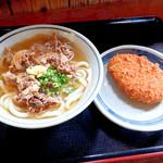 上野製麺所 - 肉うどんとコロッケ
