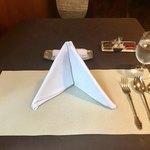 東洋軒 - テーブルセッティング