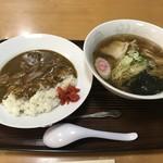 王蘭食堂 - カレーセット