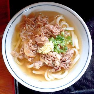 上野製麺所 - 肉うどん