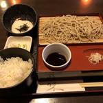 蕎麦一 - とろろ飯と十割せいろ(サービスランチ)