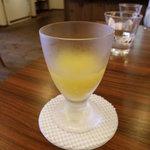 元町カフェ - ランチのデザート(ゼリー)