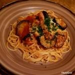 鎌倉パスタ - 料理写真:トロトロ茄子とベーコンのパスタ