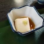 天下茶屋 - 胡麻豆腐