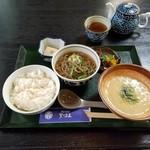 天下茶屋 - 「麦飯とろろ定食 (1000円)」