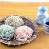 そば膳処 かまくら - 料理写真:三色変わりそば(しそ切り・梅切り)