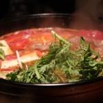 美食堂すきずき - トマトすき焼き
