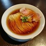 麵処清水 - 煮干し中華そば 650円