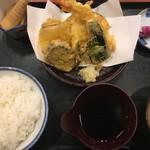 高岡和食処 - 天ぷら定食(竹)