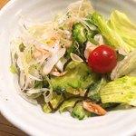魚金 - ゴーヤーサラダ
