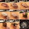 赤べこ - 料理写真:上にぎり(観光客にはしじみのすまし汁付)