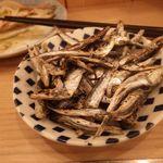 立呑み 晩杯屋 - 平子炙り150円