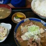 Kouka - モツ煮込定食