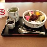 カフェ&レストラン談話室 ニュートーキョー - あんみつ