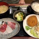 うおなみ - 料理写真:2種ランチ 800円