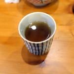 蕎麦酒膳くら嶋 - 蕎麦茶