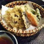 ふじ鮨 - 野菜天ぷら