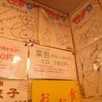台湾の焼き包子 包包亭 - サイン(ぐっさん家 他)