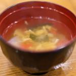 87372302 - 豚生姜焼き 900円 の味噌汁