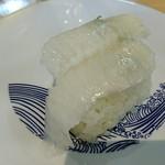お魚天国 すし若  - 2018年6月 エンガワ