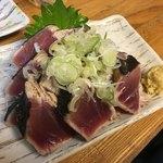 魚がし 福ちゃん - かつお塩たたき680円