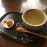 甘味茶寮 ほとり - 柚子茶だっけ?あれ、抹茶の写真がない まぁいいか(・ω・)
