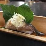 京橋 幸太郎 - 想像絶する鯖寿司