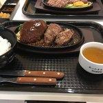 1ポンドのステーキハンバーグ タケル - 希少!!ミスジステーキ&ハンバーグ S1840円