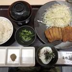87376656 - 牛ロースカツ京都玉膳
