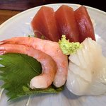 寿司鉄 - 寿司鉄 @平和台 和定食の刺身