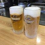87381236 - キンキンなビールジョッキ!