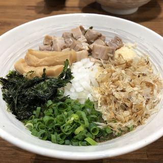 二代目むじゃき - 料理写真:煮干まぜそば(800円)★★★★☆