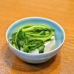 日の出 - ■豆腐、三つ葉
