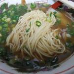 岡山中華そば 後楽本舗 - 「自社製麺」アップ