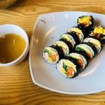 コサム冷麺専門店 - 野菜のりまき(500円)