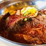 コサム冷麺専門店 - 冷肉スープを注いで!