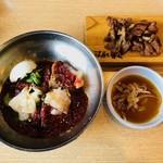 コサム冷麺専門店 - ビビン冷麺セット(1,180円)