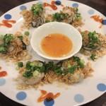 87387428 - ベトナム焼き牡蠣 ¥850