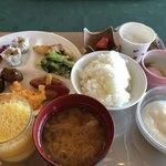 乃木温泉ホテル - 料理写真:バイキング朝食