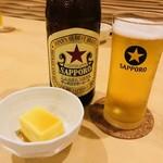 87388866 - 赤星びんビール(550円)