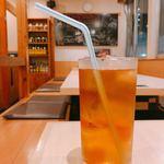 すみ屋 - とうもろこし茶。優しい甘みが美味しい。