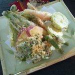 磯 - 島野菜の天ぷら盛り合わせ 1260円