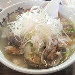 麺屋 はちき - 貝菜ラーメン