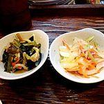 ざぶとん - お野菜炊いたん、お野菜の酢物