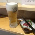 87392530 - 生ビール390円(税別)