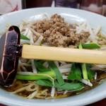 玉蘭 - スープ米粉(ビーフン)。優しい醤油味です。
