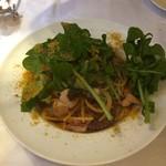 ラ・カンティーナ・カンチェーミ - 久慈産柳蛸とボッタルガとフレッシュトマトのペペロンチーノ
