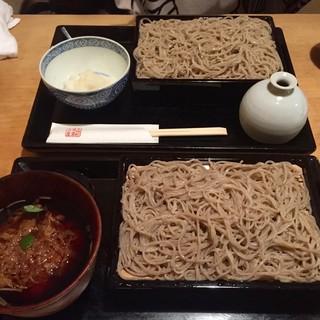 木挽町 湯津上屋 - 料理写真:つけ天・辛味おろし