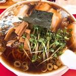 ノガミ - 料理写真:正油らーめん大盛り(650円)