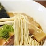 RAMEN GOTTSU - 食感、風味、共にバツグンな麺です。